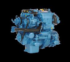 Efterstræbte Nanni Diesel bådmotor - Kompakt indenbordsmotor NG-17