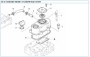 n2.10 cylinder head cover reservedele