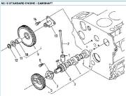 Nanni 2.10 Standard Engine Camshaft