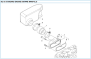 Nanni 2.10 Intake manifold reservedele