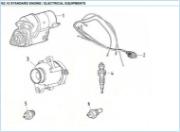 Nanni 2.10 electrical equipment reservedele