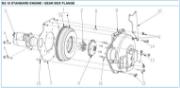 Nanni 2.10 gear box flange reservedele
